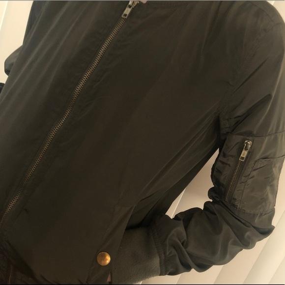 Jackets & Blazers - Green women's Bomber Jacket